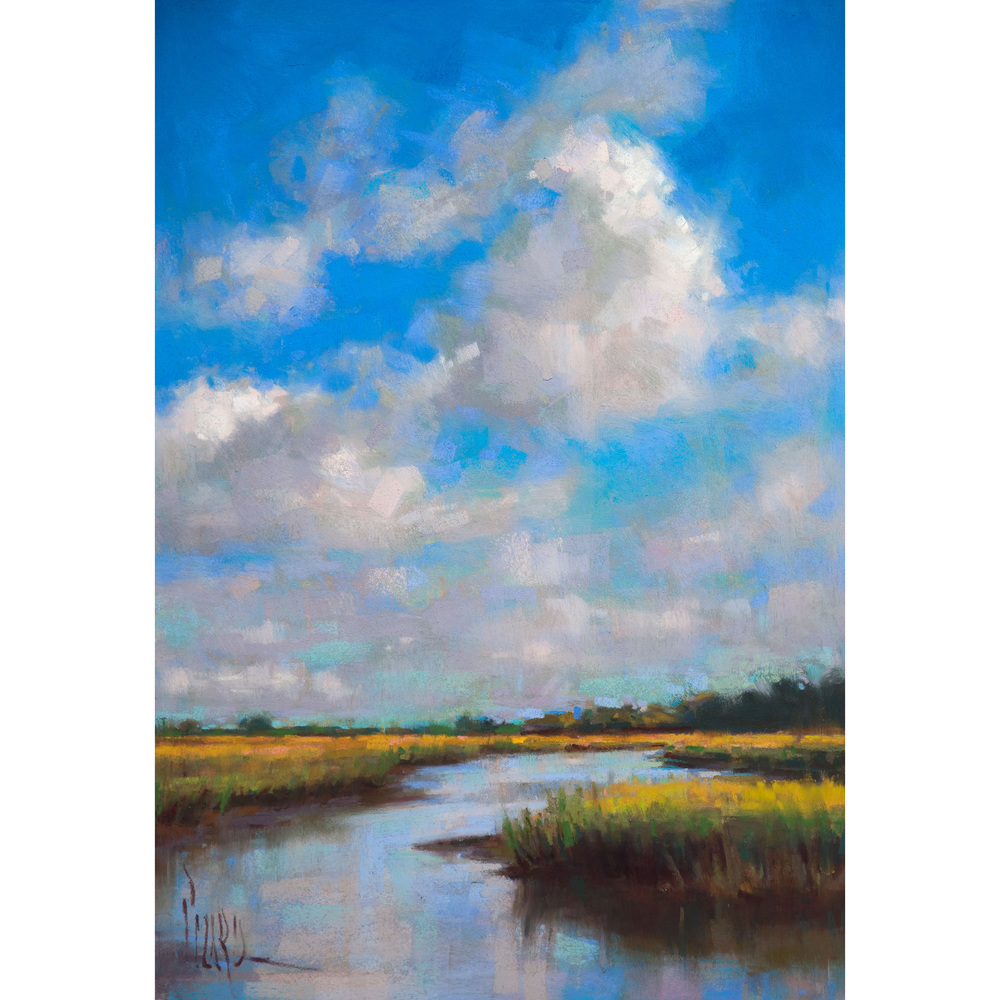 Low Country Blues - Signed Print
