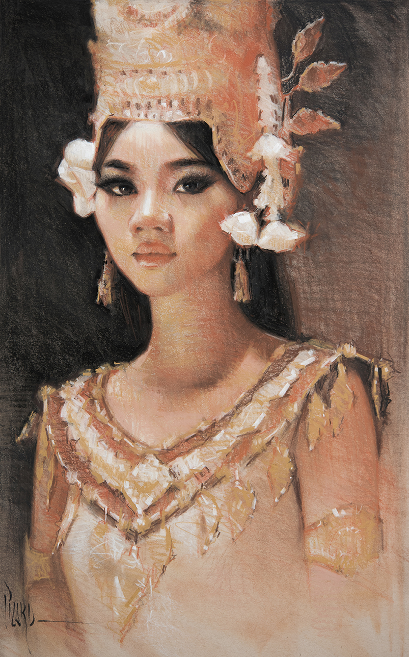 Apsara Dancer Study