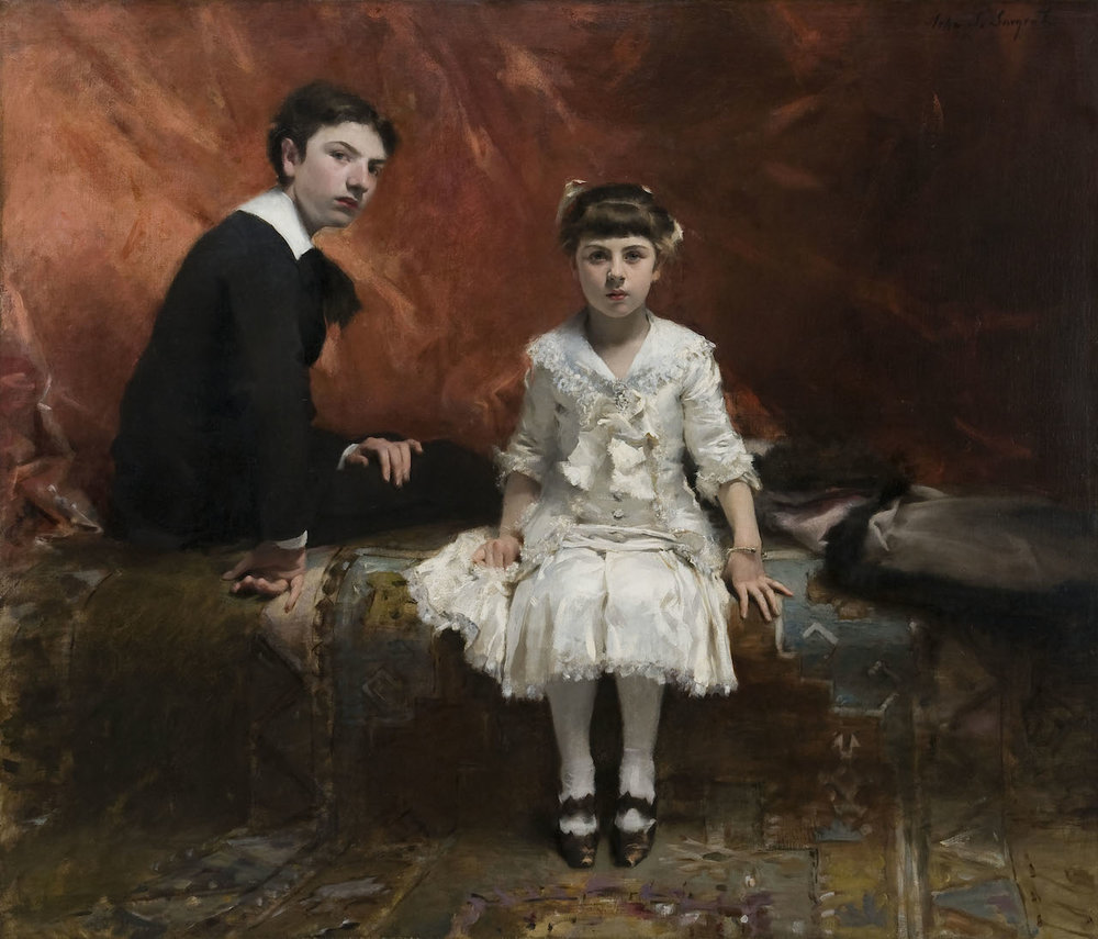 Edouard and Marie Louise Pailleron  by John Singer Sargent 1881
