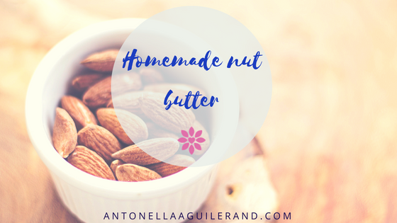 Homemade nut butter.