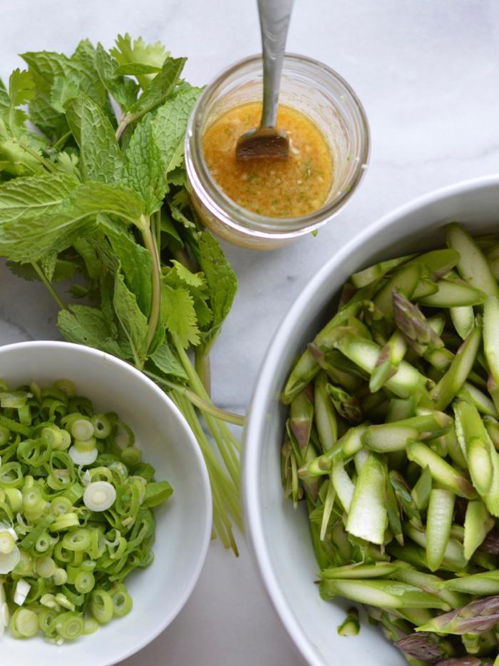 Anti-inflammatory asparagus salad