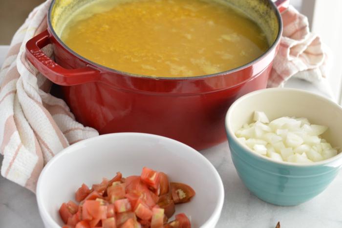 Food as medicine: turmeric lentils
