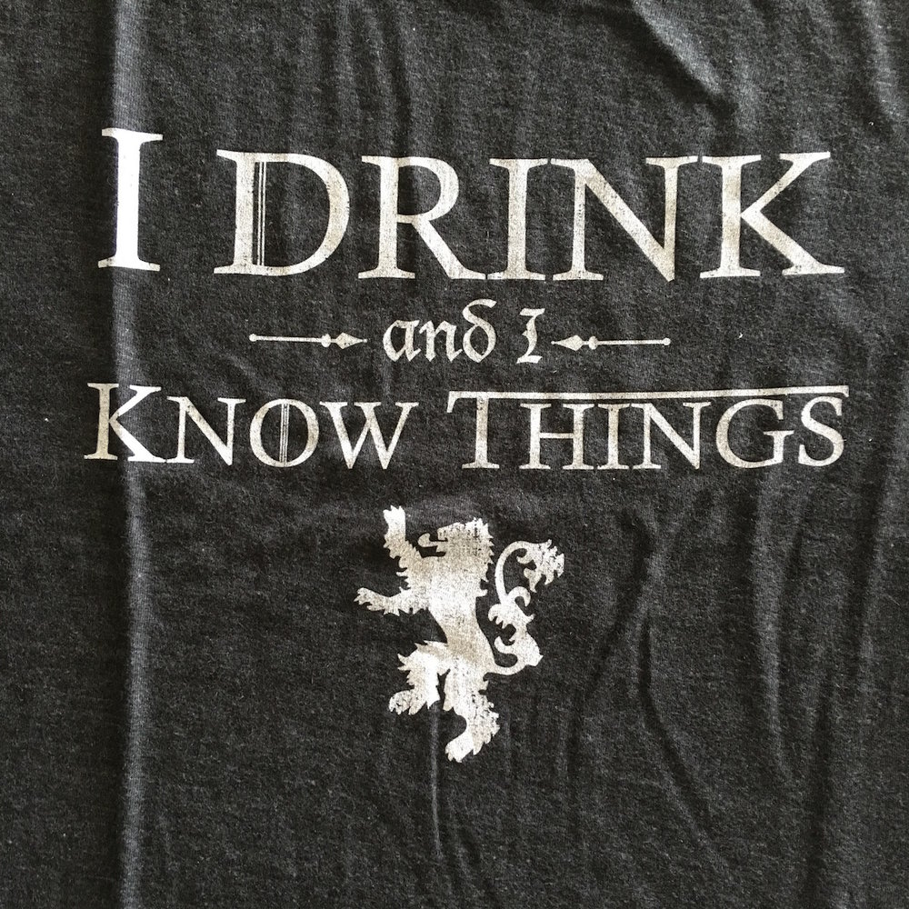 Drink Know T-Shirt Front