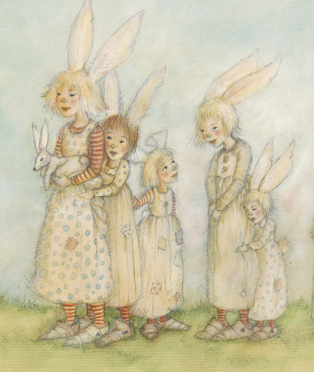 Bunny Troupe Detail