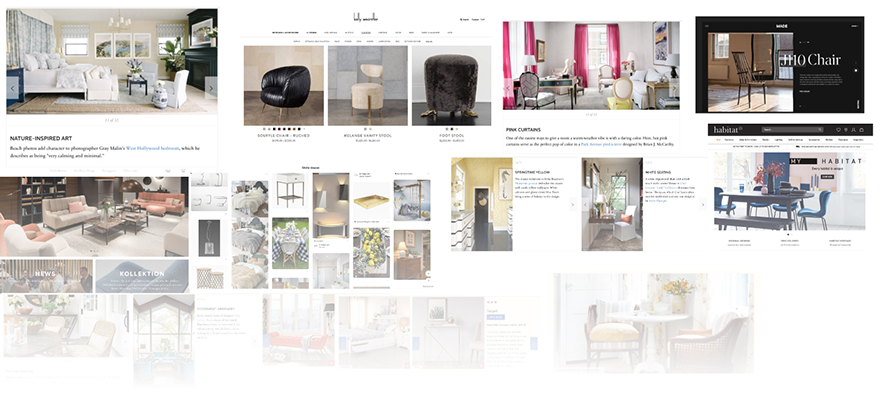 """The mood board… - …provides a clear vision for the designer to work from. In fact, I usually ask clients to send their """"vision"""" before creating my own mood board. After all it's the client who knows best what they want."""