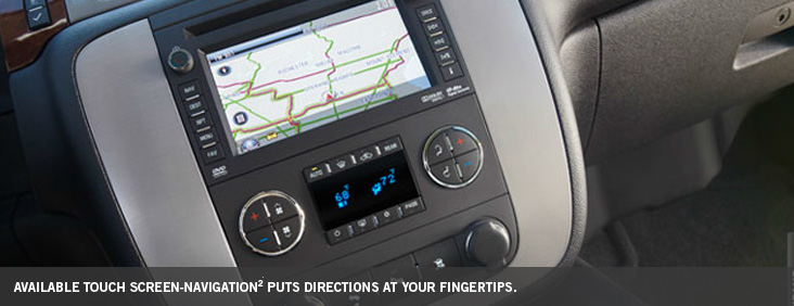 Touch screen navigation