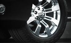 Standard 22'' aluminum wheels