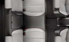 Multiflex rear seat system