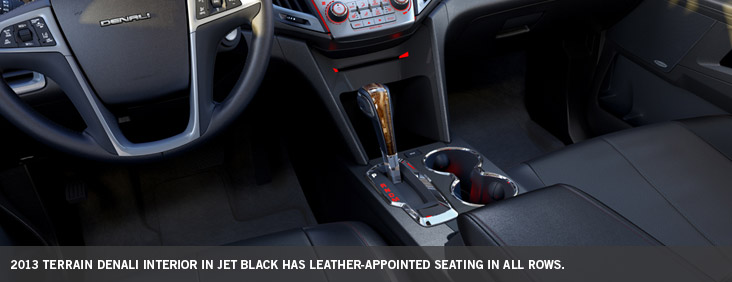 Leather Appointed Seating