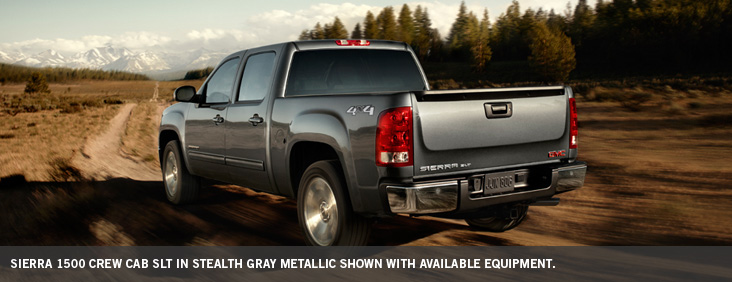 Stealth Gray Metallic Sierra 1500