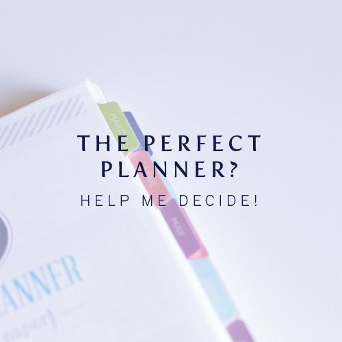 The Perfect Planner - Cinnamon Wolfe Photography
