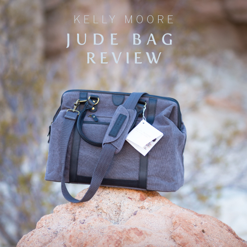 kelly moore jude bag review by cinnamon wolfe photography