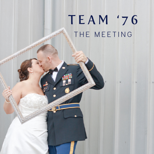 Team '76 The Meeting | Cinnamon Wolfe Photography | Celebrate Marriage