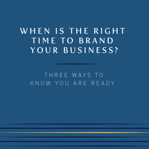 When is the right time to brand your business? | Three ways to know you are ready to brand | Cinnamon Wolfe Photography