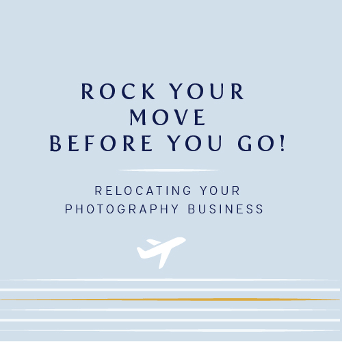 Rock your move before you go | Relocating your photography business | Cinnamon Wolfe Photography | NYC & NJ Wedding Photographer
