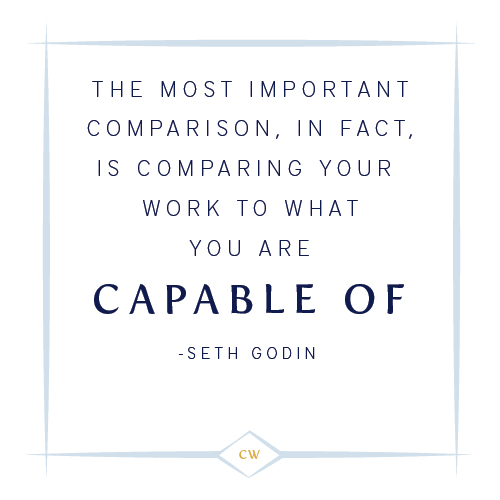 Seth Godin Quote | Lessons in Perspective | Cinnamon Wolfe Photography | NJ & NYC
