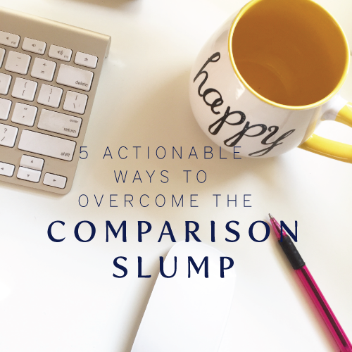 Overcoming the comparison slump | Cinnamon Wolfe Photography | NJ & NYC