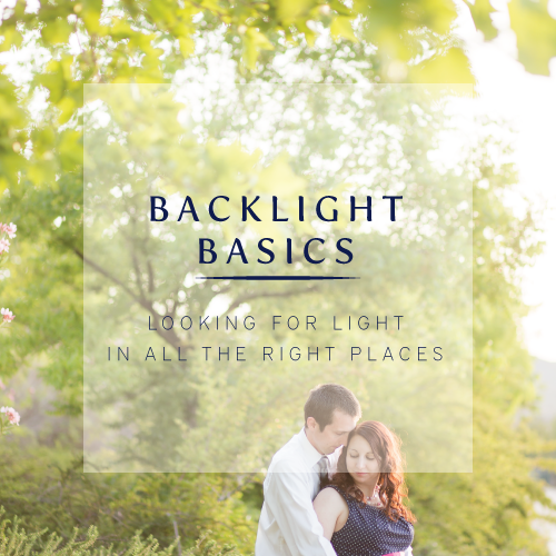 How to shoot a backlit photo