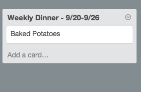 Meal Planning using Trello | Cinnamon Wolfe Photography | NJ & NYC