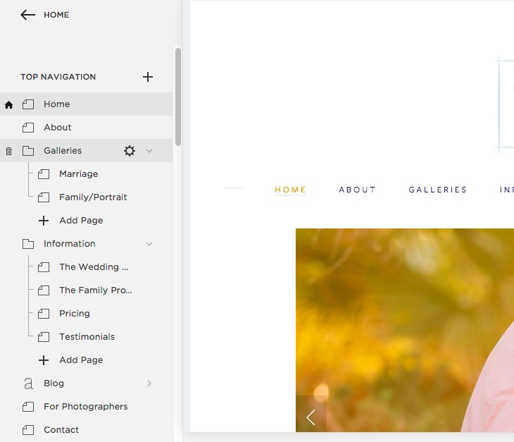 How to blog in Squarespace
