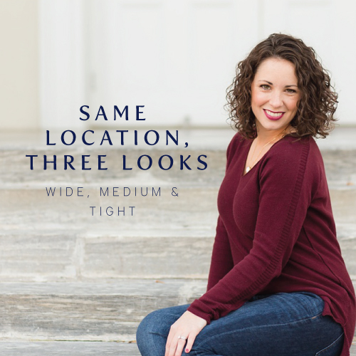 How to get multiple looks from one location by shooting wide, medium and tight | Cinnamon Wolfe Photography | NJ Wedding Photographer