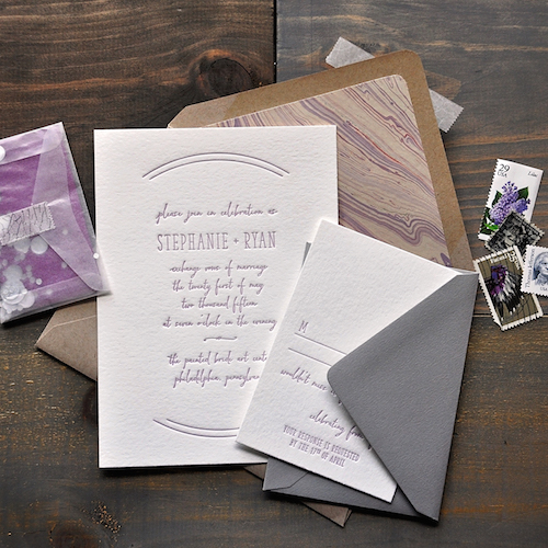 Custom wedding stationery | Cinnamon Wolfe Photography | North NJ Wedding Photographer