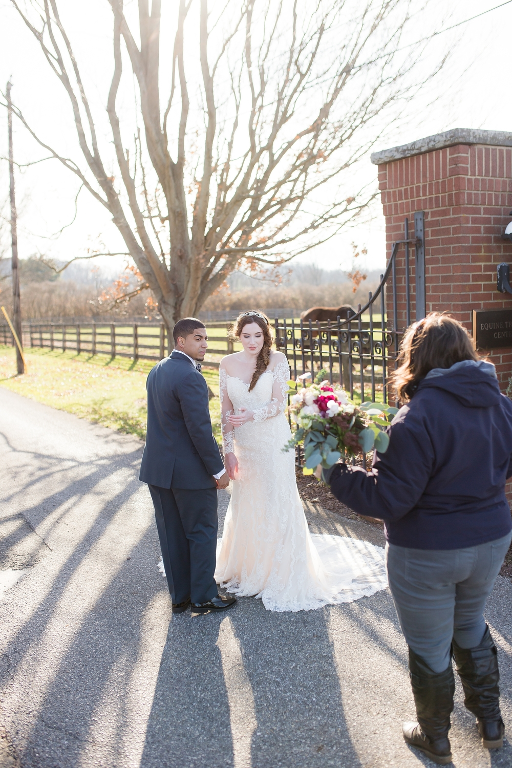 Behind the scenes of a styled wedding shoot | Cinnamon Wolfe Photography | North NJ Wedding Photographer