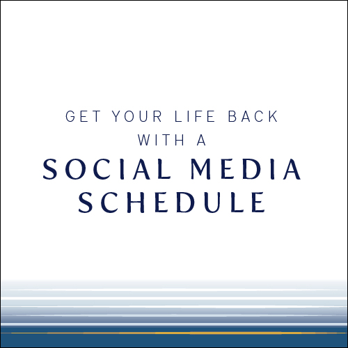 Get your life back with a Social Media Schedule | Cinnamon Wolfe Photography | NJ Wedding Photographer