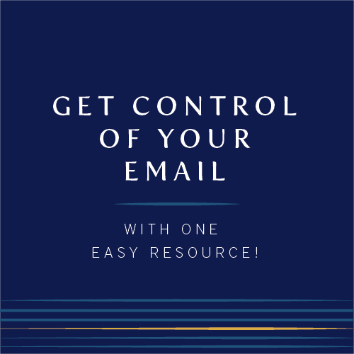control your email | Photography Education