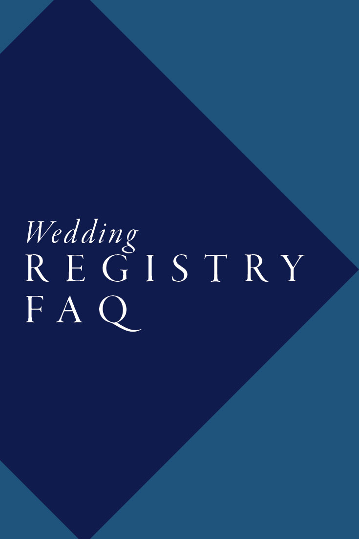Wedding Registry FAQ | Cinnamon Wolfe Photography | NJ Wedding Photographer