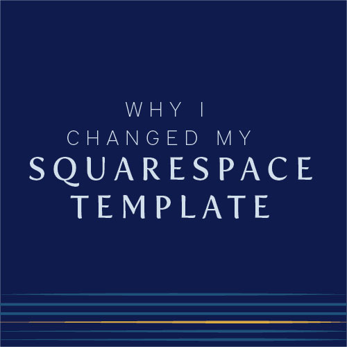 Should I change my squarespace template?