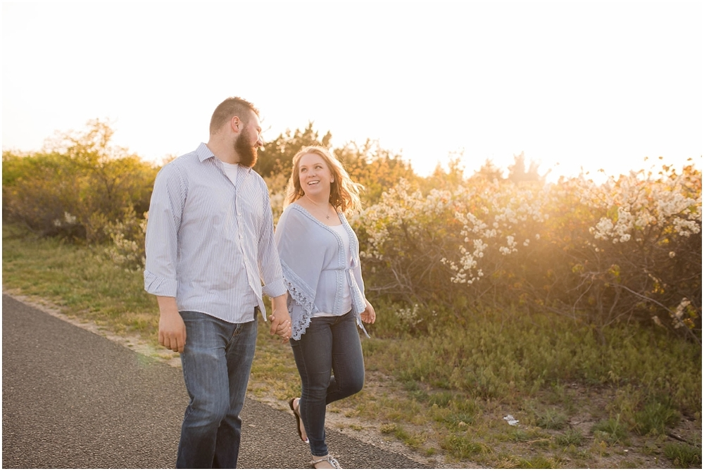 Sandy Hook Beach Engagement Session