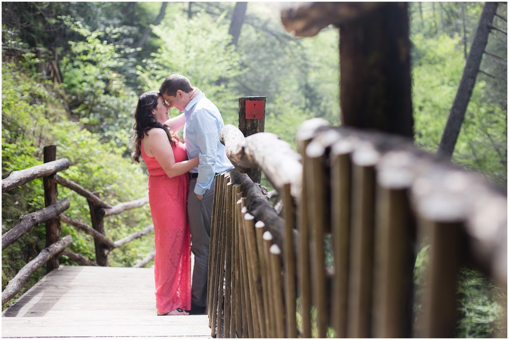 Bushkill Falls Engagement Session
