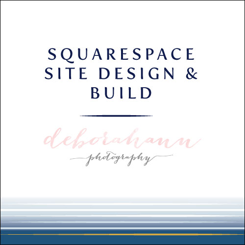 Squarespace site design and build