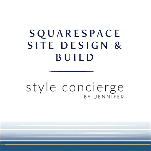 design for squarespace website
