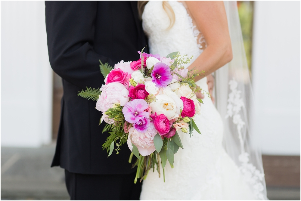 The Park Savoy Wedding | Bride and Groom | Pink and White bridal florals