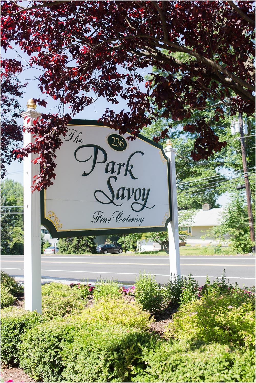 Elegant Park Savoy Wedding in Northern NJ