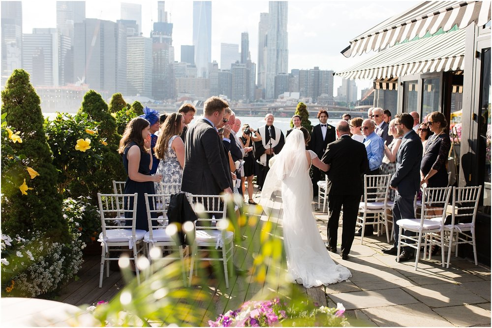 A Wedding under the Brooklyn Bridge