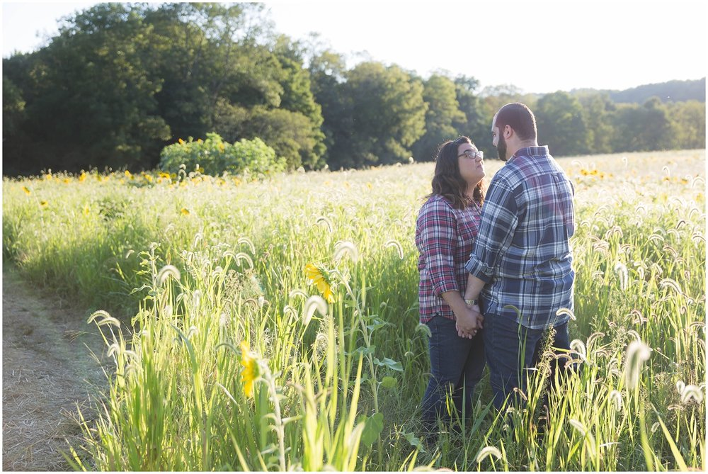 Sunflower Field Engagement Session_0137.jpg