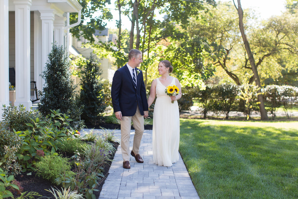 Westfield New Jersey Backyard wedding