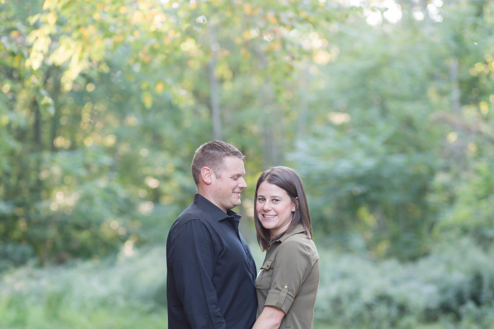 Fall Engagment Session in Ledgewood New Jersey