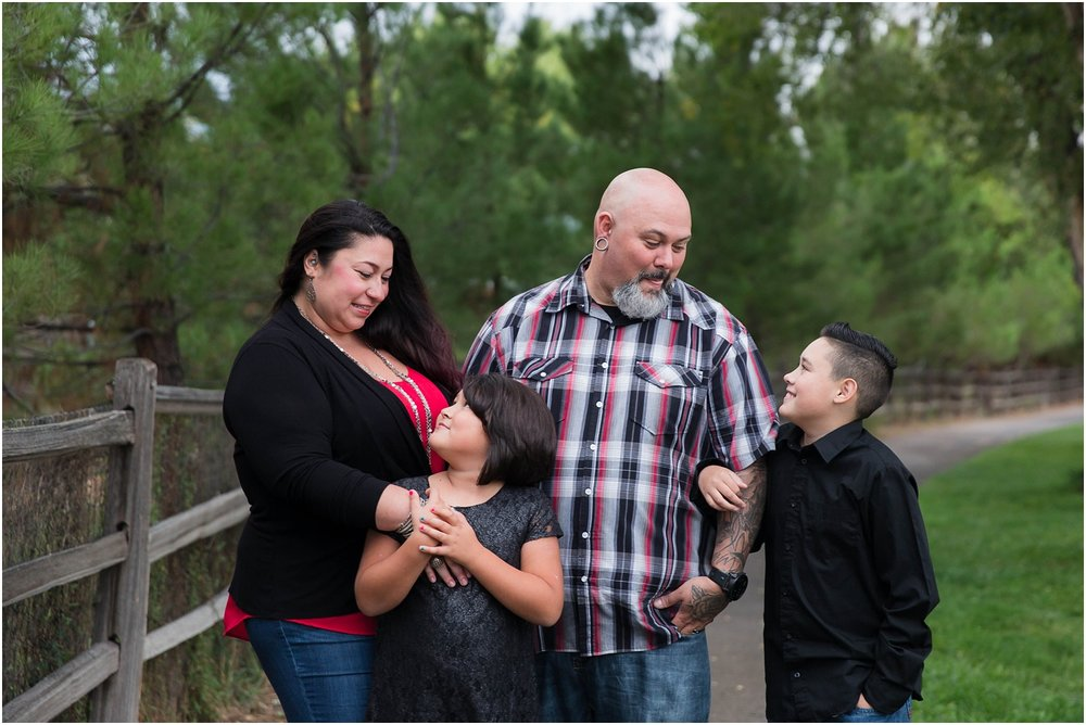 Hartnett Park Family Photos in Albuquerque New Mexico  | Family of four photography