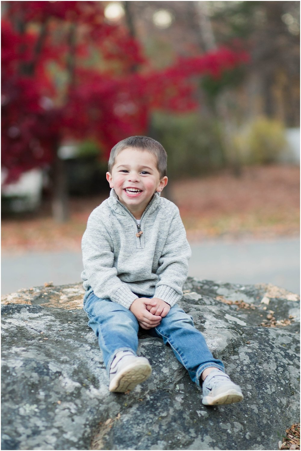North New Jersey Fall Family Photography