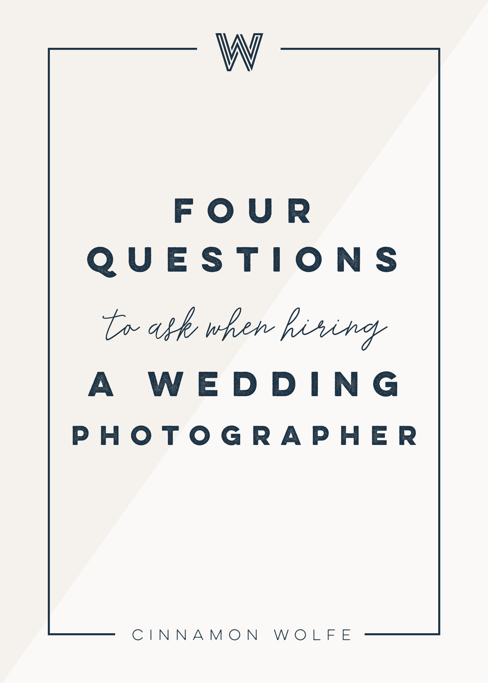Four questions you should ask your wedding photographer | Wedding Planning