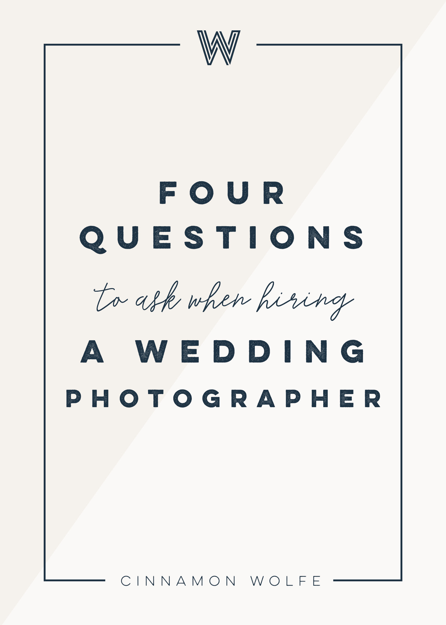 Questions You Should Ask Your Wedding Photographer Private Photo