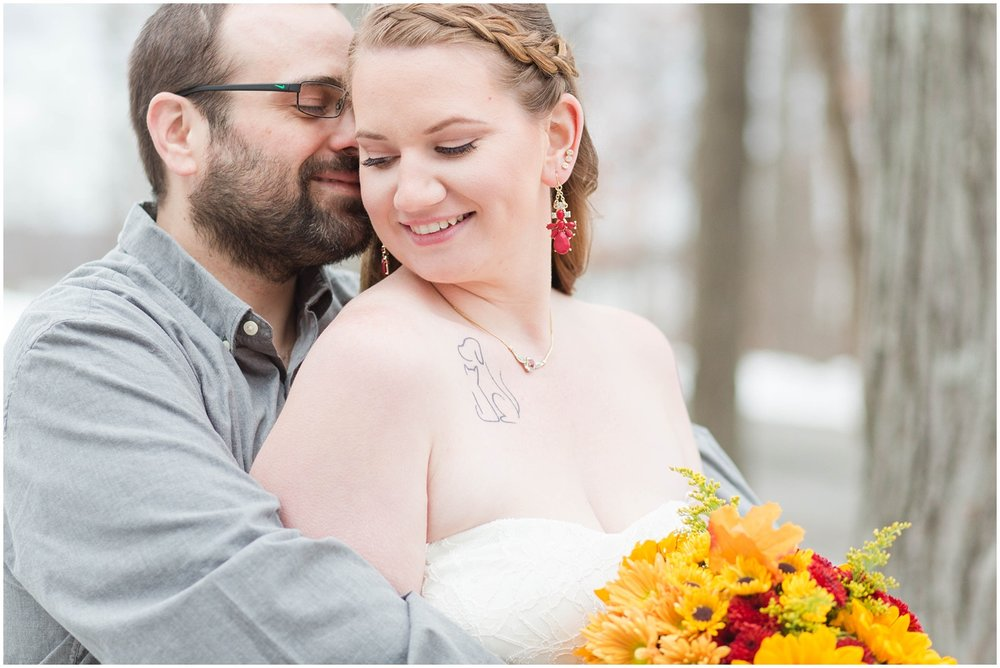 Outdoor wedding in Budd Lake, NJ