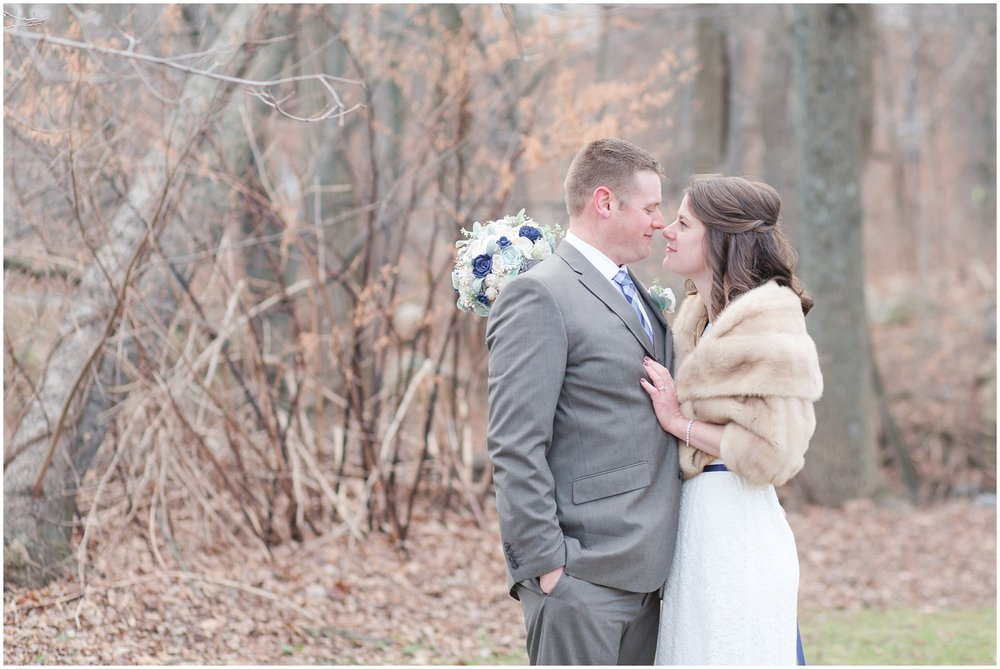 Outdoor Winter Wedding Photography: Dave + Jess // Outdoor Winter Wedding