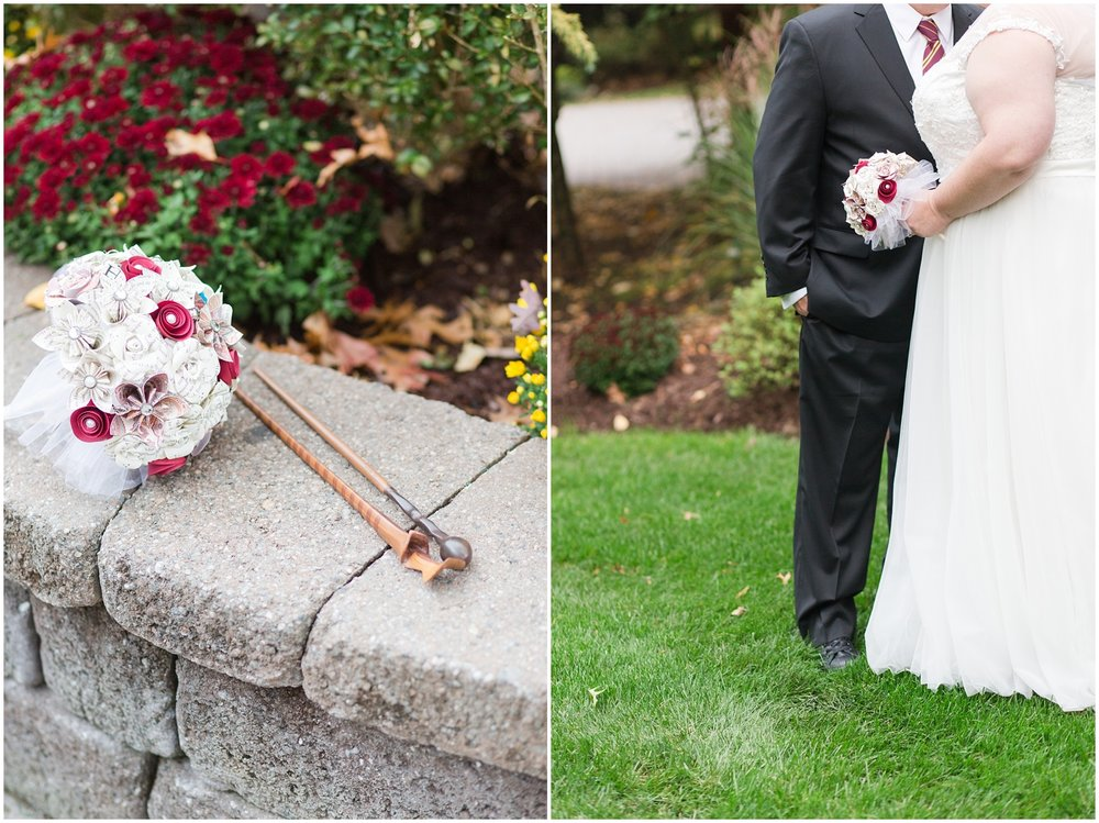 Harry Potter themed wedding at The Tides Estate in Northern New Jersey