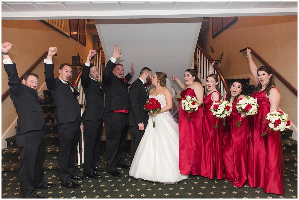 Winter Wedding in Hackettstown NJ