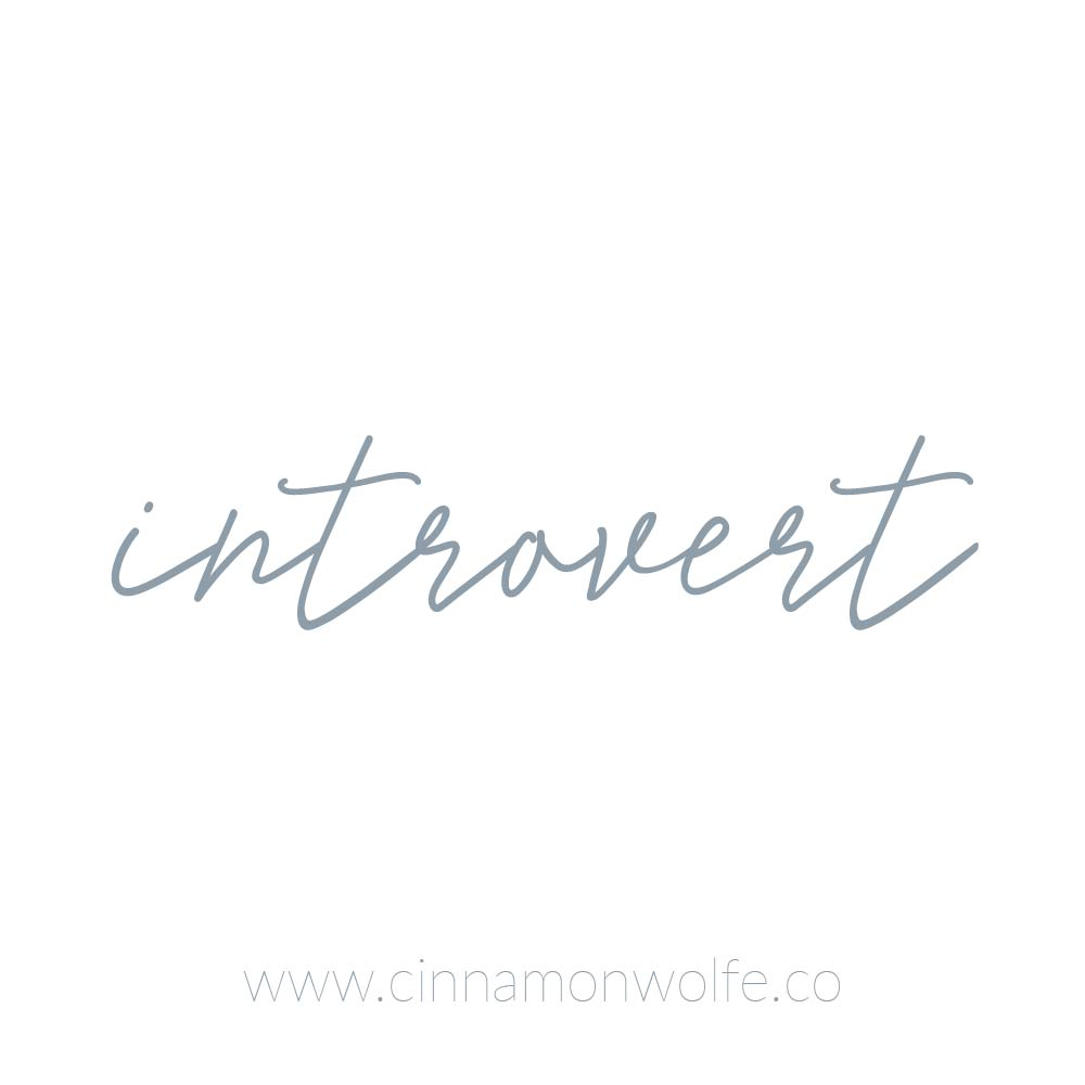 what does it mean to be an introvert?